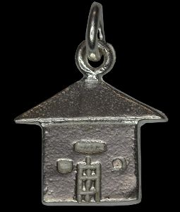 925 Silver House Charm