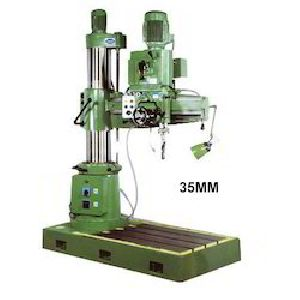35mm All Geared Radial Drilling Machine
