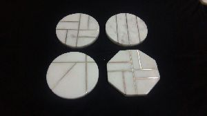 Marble Inlay Coaster