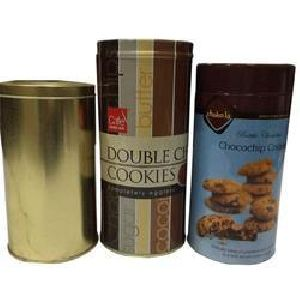 Cookies Tin Container 01