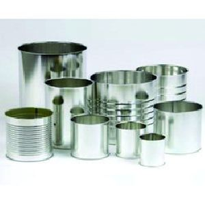 Cylindrical Tin Container 02