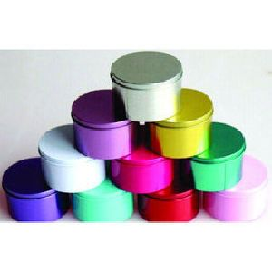 Multicolor Dry Fruit Tin Container