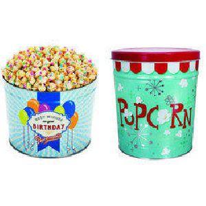Popcorn Tin Container 03