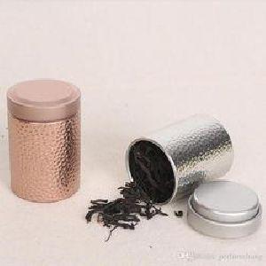 Tea Tin Container 01