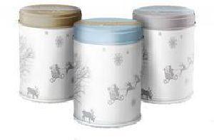 Tea Tin Container 03