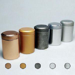Tea Tin Container 04