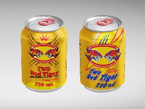 Two Red Tiger Energy Drink