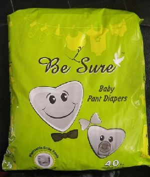 Be Sure Jumbo Medium Baby Pant Diaper