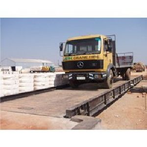 Pit-less Fully Electronic Weighbridge