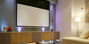 Motorised Projection Screen