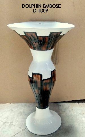 Dolphin Pedestal Wash Basin 06