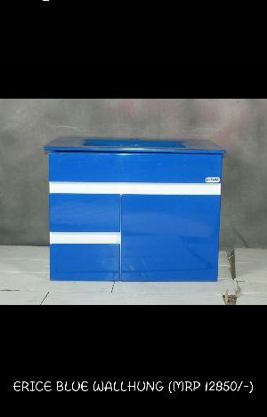 Erice Blue  Wash Basin Cabinet