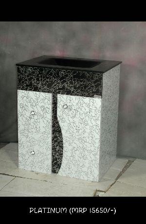 Platinum Wash Basin Cabinet