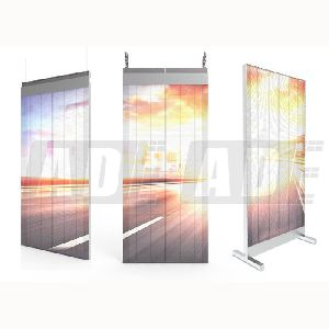 Transparent LED Poster Display 1