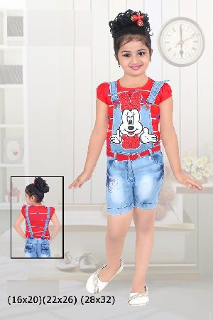 Girls Dungaree 02