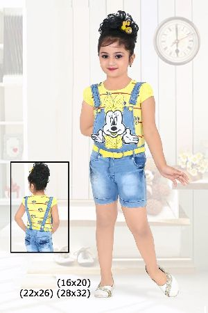 Girls Dungaree 03