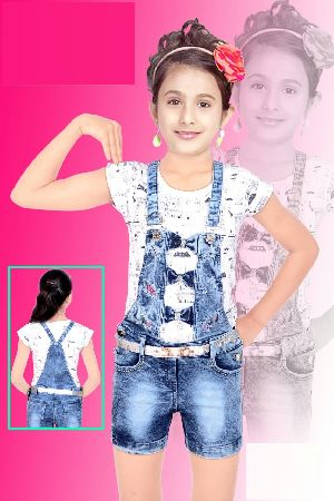 Girls Dungaree 04