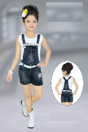 Girls Dungaree 06