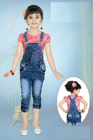 Girls Dungaree 09