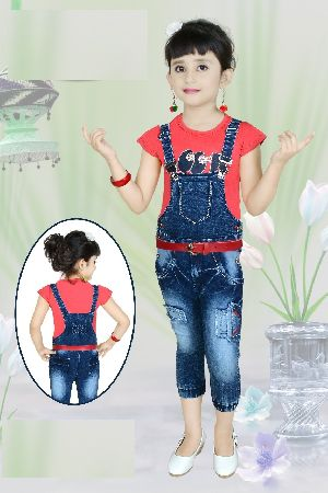 Girls Dungaree 10