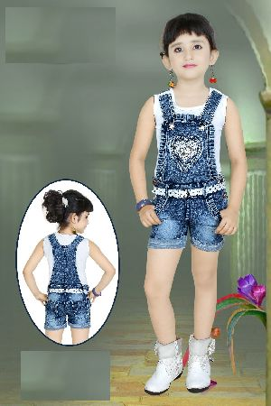 Girls Dungaree 11