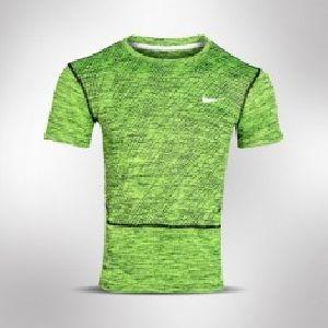 Green Mens DRI-Fit Shirt
