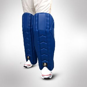 Blue Cricket Wicket Keeping Pads