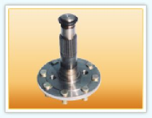 Wheel Shaft with Bolts
