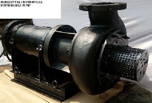 HORIZONTAL CENTRIFUGAL SUBMERSIBLE PUMP