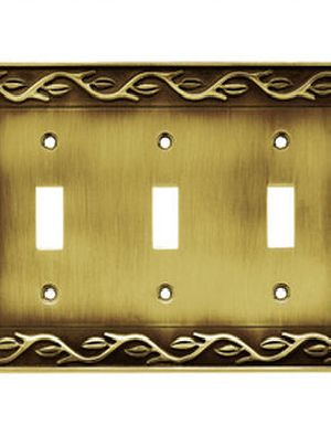 Brass Wall Switch Plates