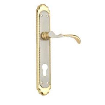 250mm Brass Mortice Door Handles