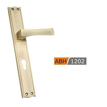 300mm Brass Mortice Door Handles