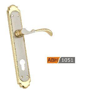 ABH 1051 - 250mm Brass Mortice Door Handle