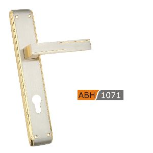 ABH 1071- 250mm Brass Mortice Door Handle