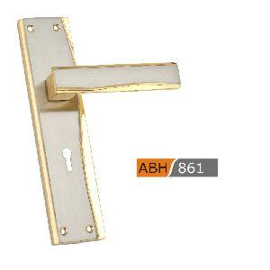 ABH 861- 200mm Brass Mortice Door Handle