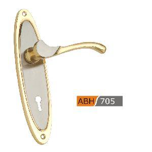 ABH705 - 175mm Brass Mortice Door Handle