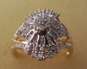 Designer Gold Ring 03