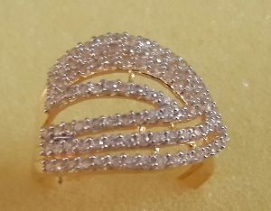 Designer Gold Ring 04