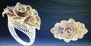 Designer Gold Ring 20