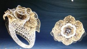 Designer Gold Ring 21