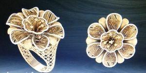 Designer Gold Ring 22