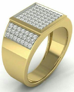 Mens Gold Ring 01