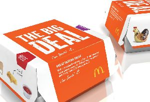 Burger Packaging Box Printing Services