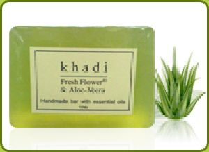 Fresh Flower Aloe Vera soap