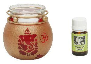 Glass Aroma Oil Burner 01