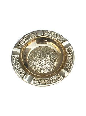 Brass Round Ashtray