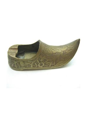 Brass Shoe Ashtray
