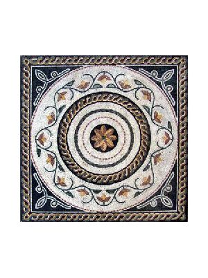 Mosaic Tile Stone Art Floor Wall Tabletop