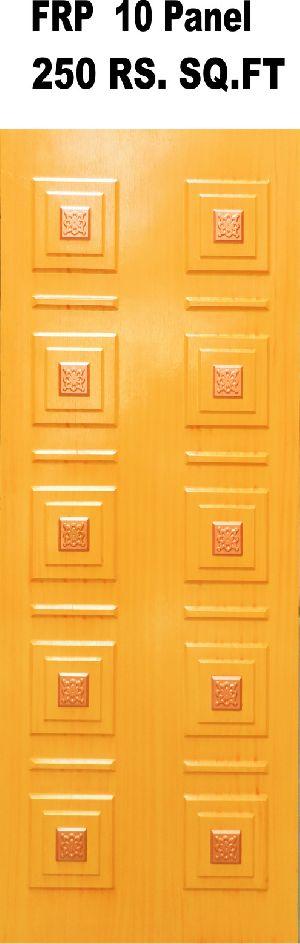 10 Panel FRP Door