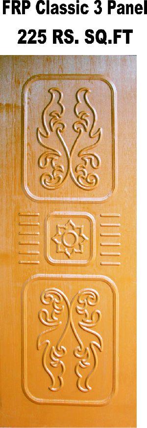 Classic 3 Panel FRP Door